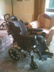 Invacare Rea Azalea 'Tilt in space' wheelchair  - click to zoom