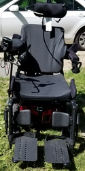 Quantum rehab Q6 edge 2.0 wheelchair  - click to zoom