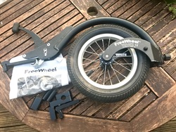 Freewheel wheelchair attachment  - click to zoom