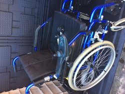 Electric Wheelchair Enigma U-Drive Powerstroll - click to zoom