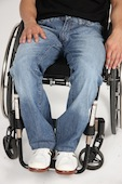 Rollitex Wheelchair Jeans and Trousers for Wheelchair Users available on DisabledGear.com (Full Size)