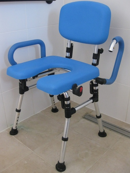 shower commode chairs for disabled. Travel Shower Chair On DisabledGear.com Image 3 - Click To Zoom Commode Chairs For Disabled