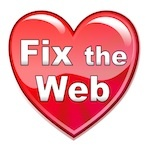 Fix the Web Logo - Addressing Accessibility in Websites