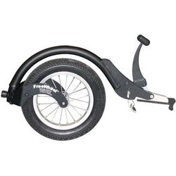 FreeWheel for wheelchairs makes moving over uneven ground so much easier (max250)