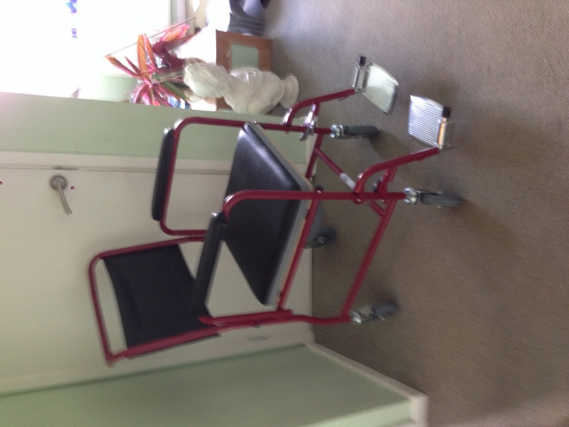 Viva Medi Wheeled Commode Chair With Brakes Commodes