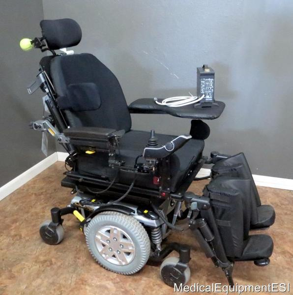 Quantum Q6 Edge Wheelchair Power Tilt Recline Legs