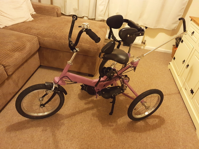 TOM CAT SPECIAL NEEDS FIZZ TRIKE - Bike, Trikes & Handbikes